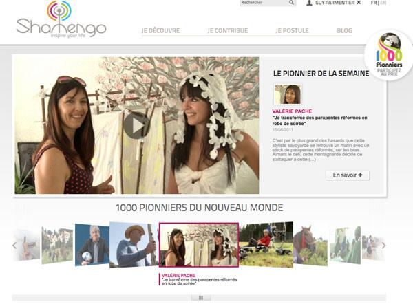 Page accueil de Shamengo